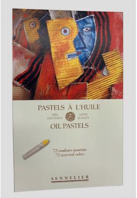 Pasteles al óleo Sennelier caja 72