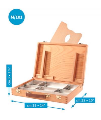 Caja vacía mediana Mabef zinc