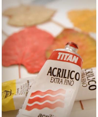 Titan acrílico extrafino