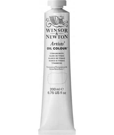 Blanco titanio Winsor óleo profesional