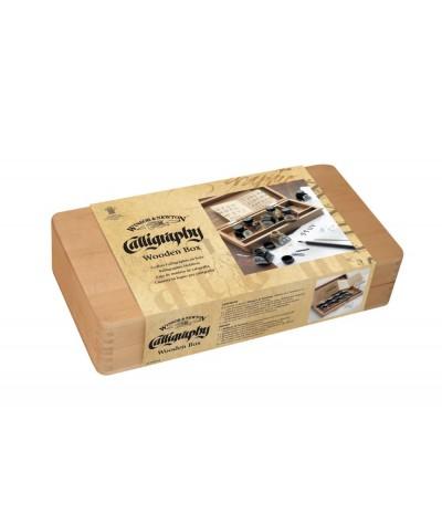 Caja madera tintas Winsor and Newton