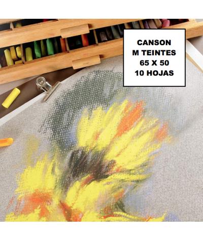 Papel Canson pastel de colores