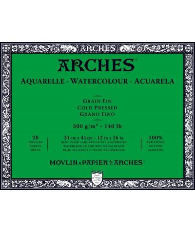 Bloc Arches 31 x 41 grano fino