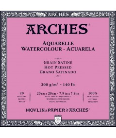 Bloc satinado Arches cuadrado