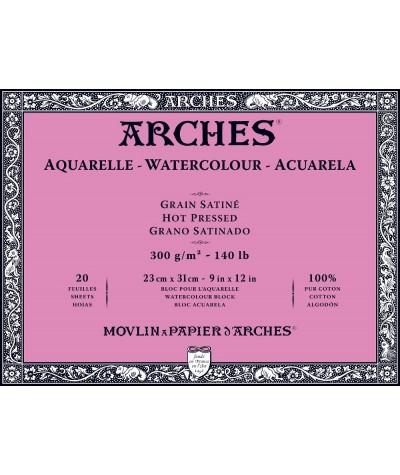 Arches satinado 23 x 31 cms