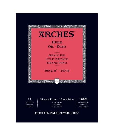 Papel para óleo Arches