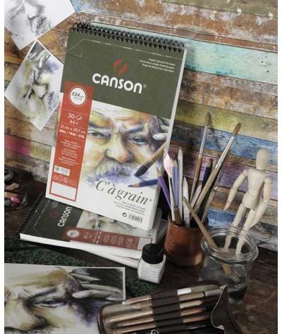Bloc dibujo Canson C´a grain