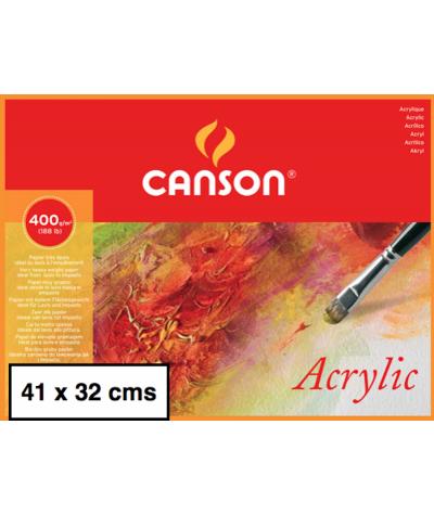 Bloc Acrylic Canson 41 x 32