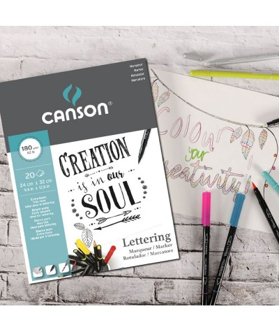 Lettering Canson