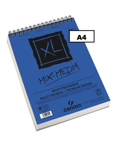 Bloc Mix Media Canson tamaño folio