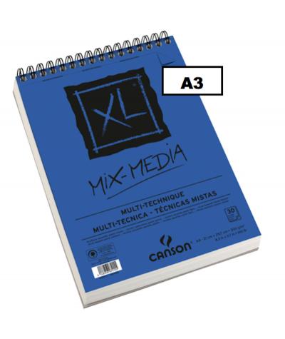 XL MIX MEDIA A3 CANSON