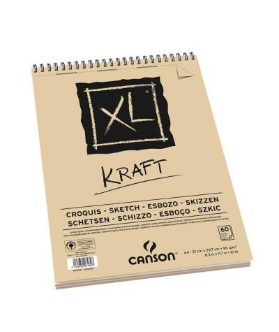 Bloc Kraft Canson A5