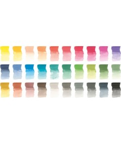 Colores Faber 30 rotulador acuarelable