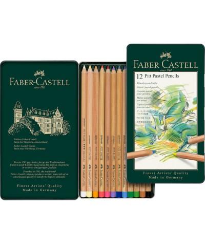 Caja lápiz pastel Faber...