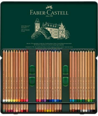 Caja de 60 lápices pastel Faber
