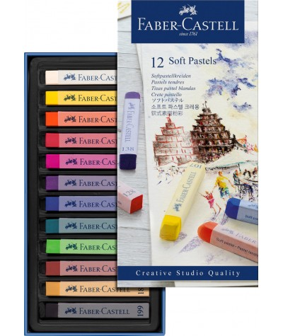 Faber Castell Vreative 12 pasteles