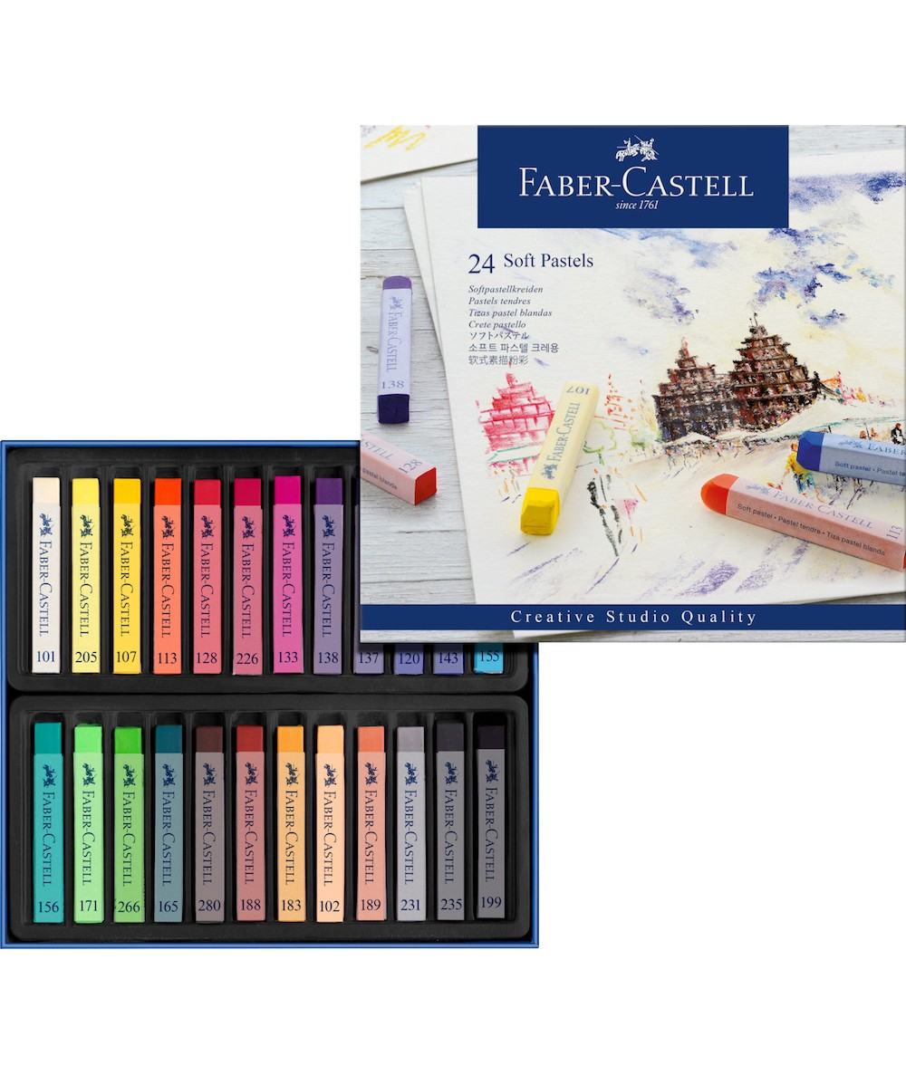 Faber Creative 24 pasteles