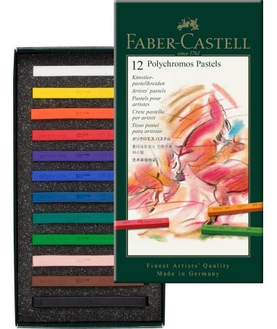 Caja 12 pastel Faber Castell