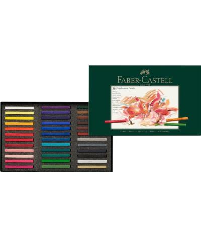 Caja 36 pastel Faber Castell