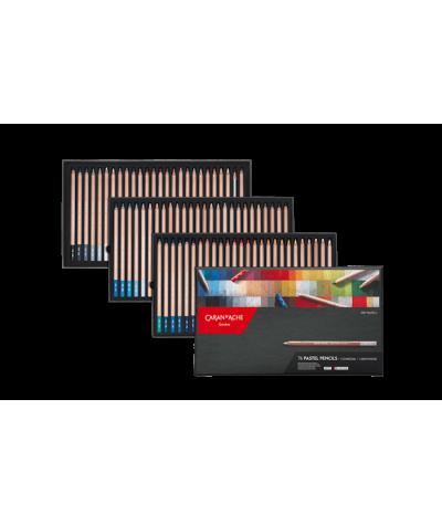 Lápices pastel Caran d´ache 76 colores