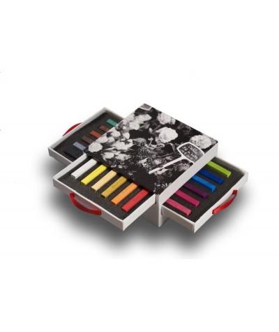 Caja barras Conté 18 colores