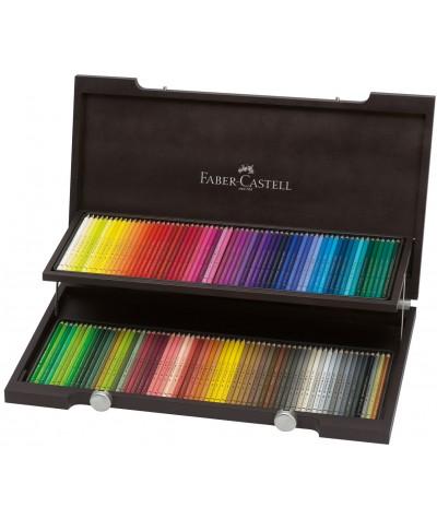 Caja madera lápices Polychromos 120 colores