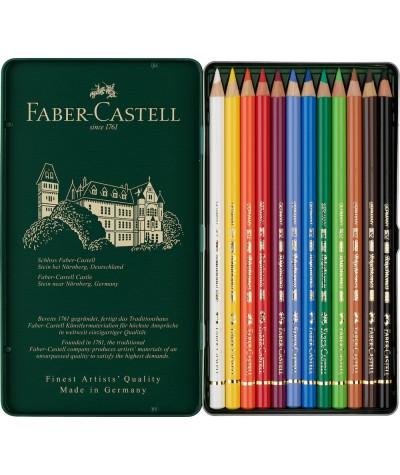 Caja 12 lápices Faber Castell Polychromos