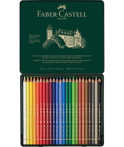 Caja 24 lápices Faber Polychromos
