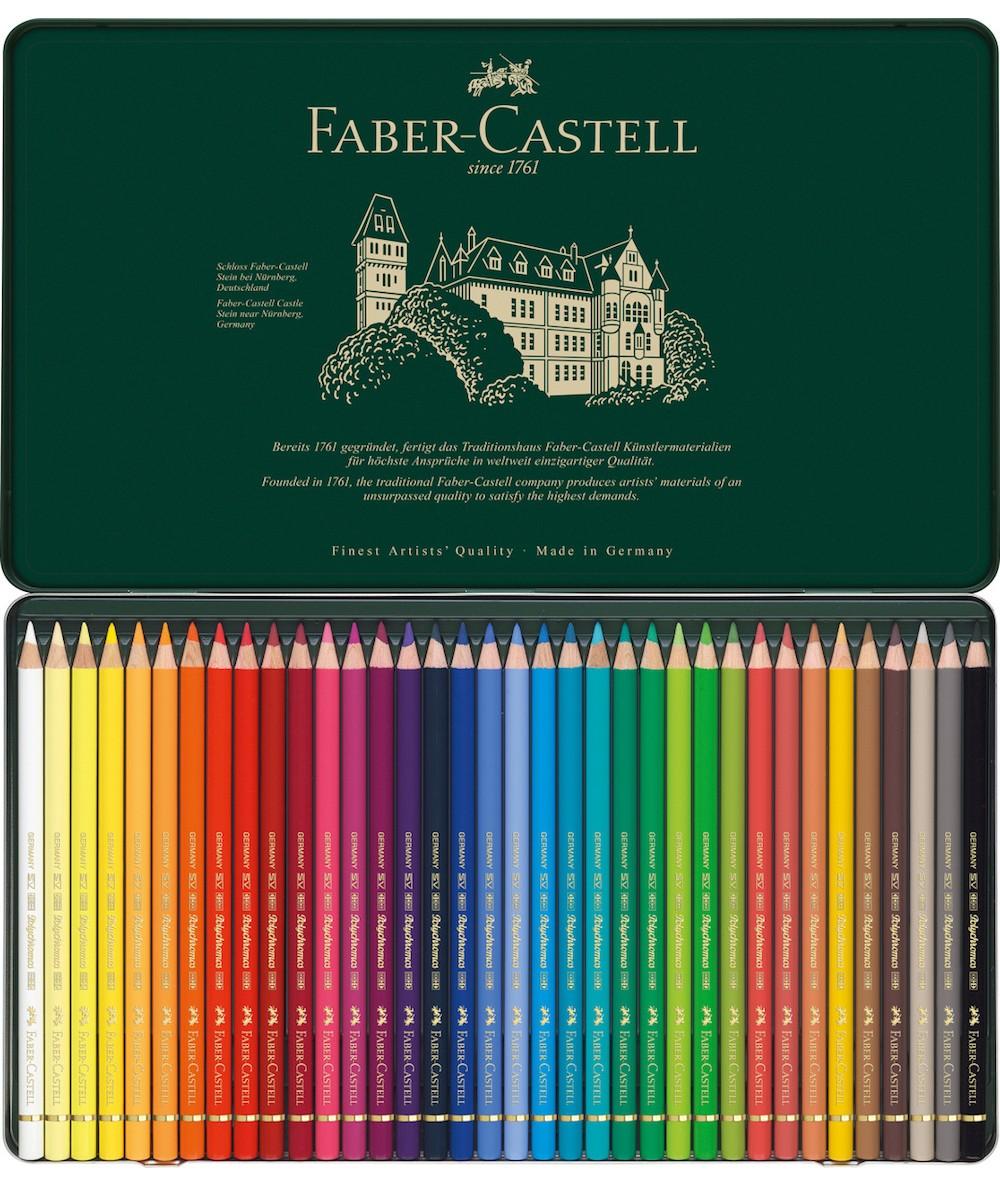 Polychromos 36 colores Faber Castell
