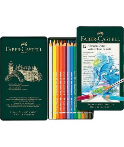 12 Lápices acuarelables Faber