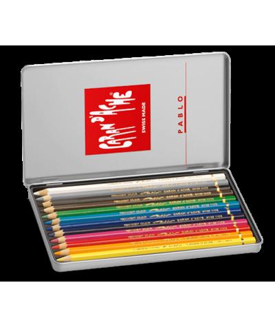 Caja lápices Pablo 12