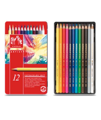 Caja 12 lápices Supracolor acuarelables