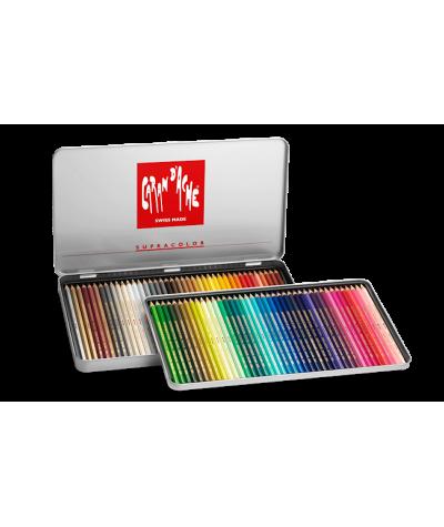 Caja lápices Caran d´ache Supracolor 80 colores