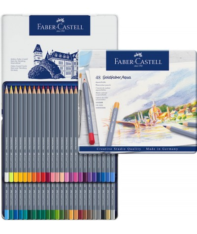 Caja lápices Goldfaber 48 colores