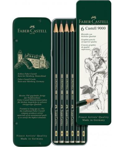 Caja lápices grafito básica