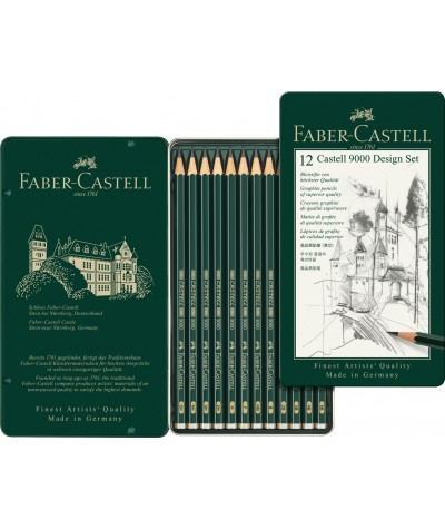 Faber lápices grafito Design set