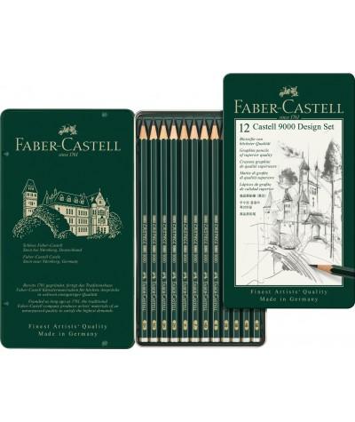 Faber lápices grafito Design set
