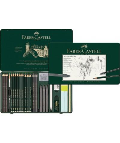 Grafitos Faber Castell 26 piezas