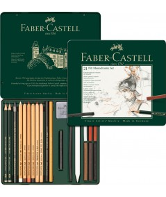 Caja dibujo Faber 21 piezas