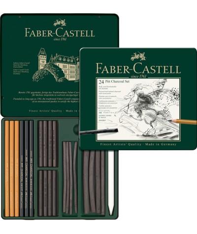 Caja Pitt Carbón Faber Castell