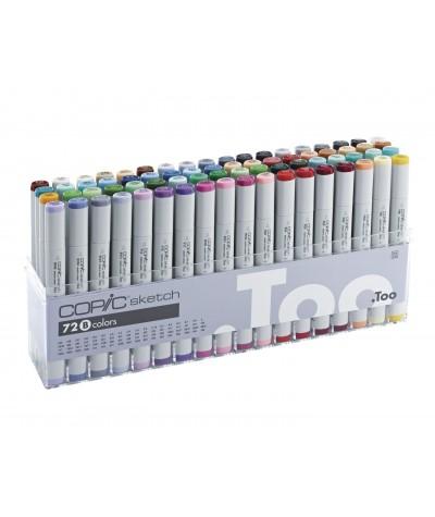 Caja 72 rotuladores Copic Sketch B