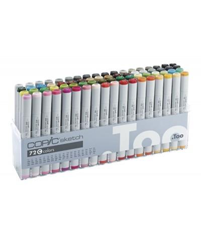 Caja 72 rotuladores Copic C