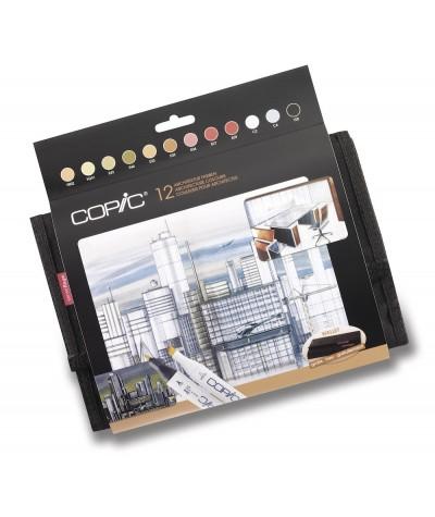 Copic Marker set arquitectura