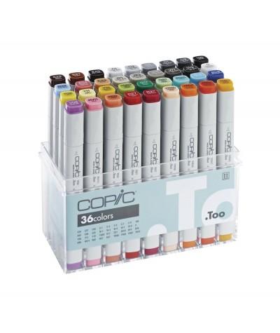 Caja Copic Marker 36 colores