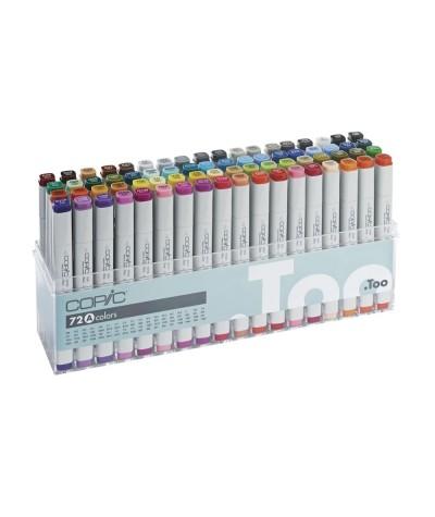 Caja rotuladores Copic Marker 72 A