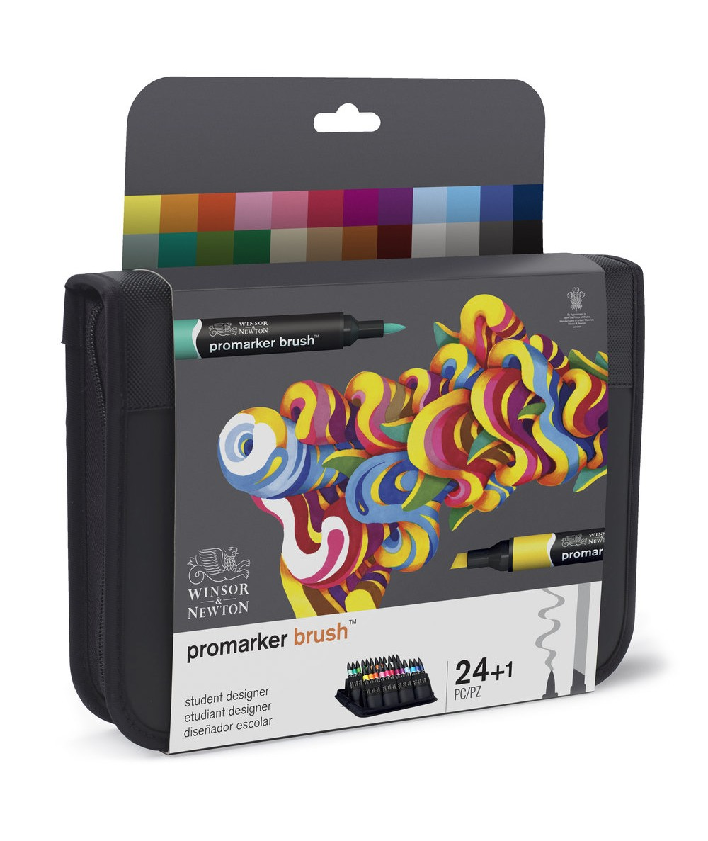 Juego 24 rotuladores Promarker brush