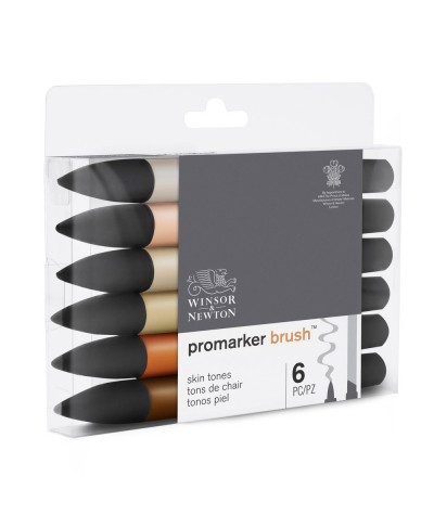 Promarker brush rotuladores piel