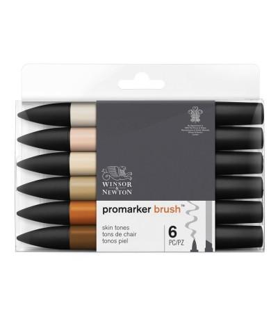 Marcadores Promarker brush piel