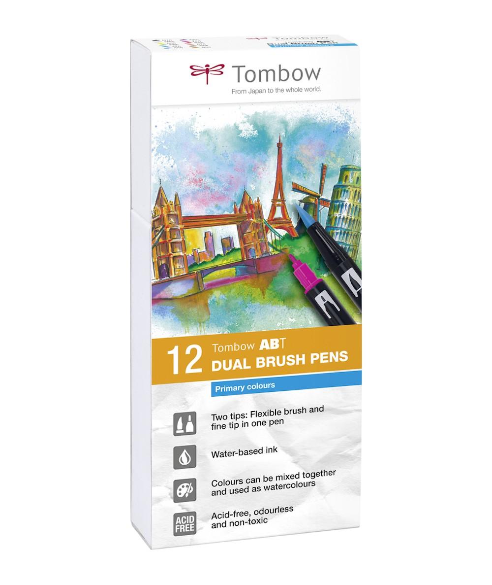 Caja 12 rotuladores Tombow ABT básicos