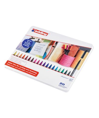 Caja Edding 1200 20 colores